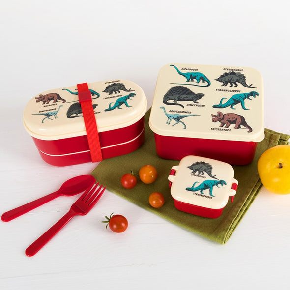 Lunch Box Prehistoric Land | REX LONDON | RocketBaby.it
