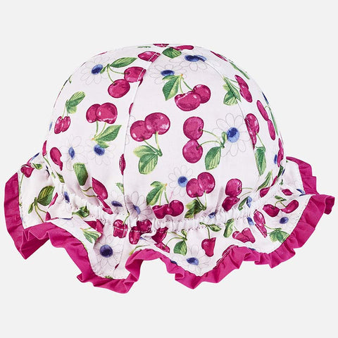 Cappello da Sole Reversibile Magenta | MAYORAL | RocketBaby.it