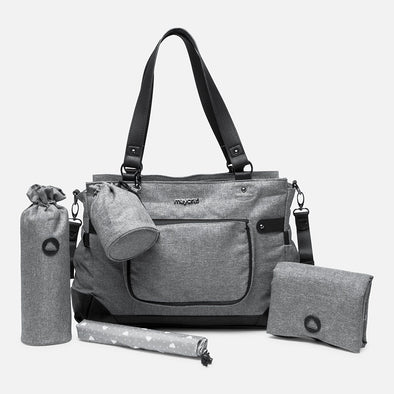 Borsa Fasciatoio con Accessori Antracite | MAYORAL | RocketBaby.it