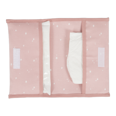 Portapannolini da Borsetta Little Stars Pink | LITTLE DUTCH | RocketBaby.it