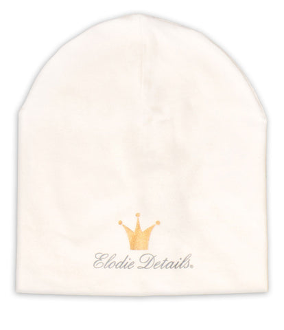 Cappellino in Cotone Vanilla White |  | RocketBaby.it