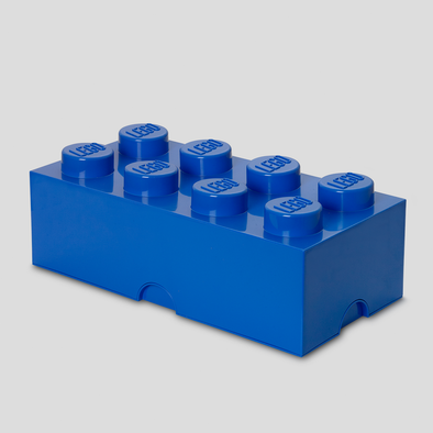 Box Portagiochi Lego con 8 Bottoni Blu | LEGO | RocketBaby.it