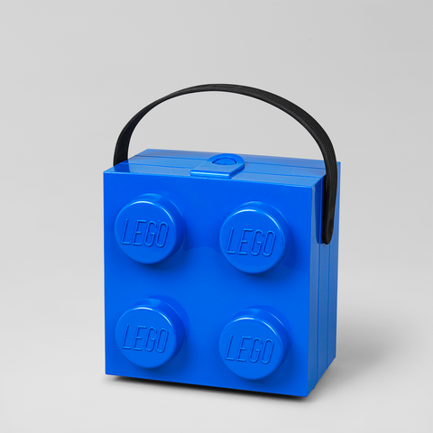 Lunch Box Lego Blu | LEGO | RocketBaby.it