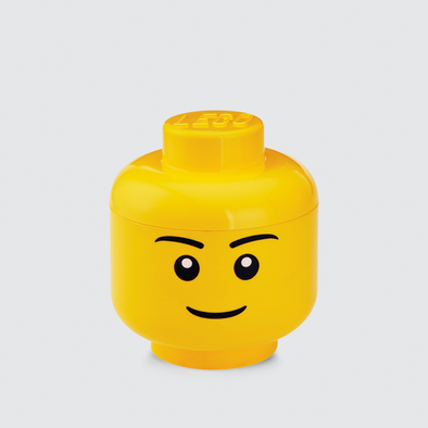 Box Portagiochi Lego Head S Boy | LEGO | RocketBaby.it