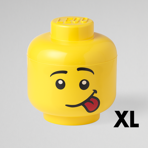Box Portagiochi Lego Head XL Silly | LEGO | RocketBaby.it