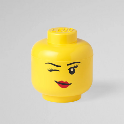 Box Portagiochi Lego Head S Whinky | LEGO | RocketBaby.it