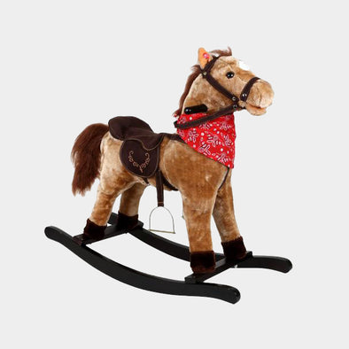 Cavallo A Dondolo Western | LEGLER | RocketBaby.it