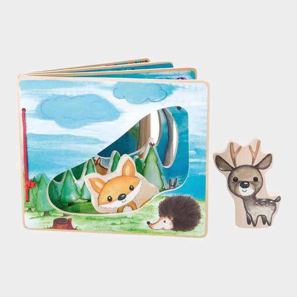 Libro Illustrato Foresta Interattiva | LEGLER | RocketBaby.it