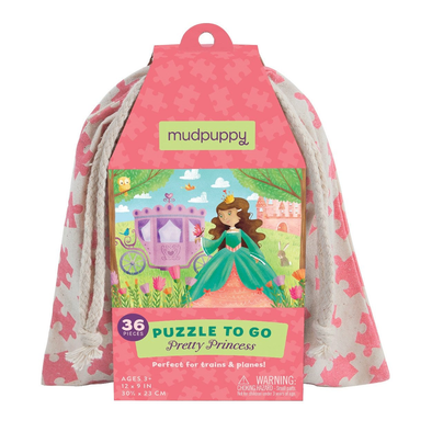 Puzzle da Viaggio Pretty Princess | MUDPUPPY | RocketBaby.it