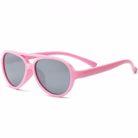 Occhiali da Sole Baby Sky Light Pink 2+ e 4+ | REAL SHADES | RocketBaby.it