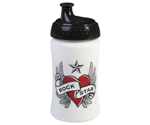Borraccia Heart and Wings 340 ml | ROCK STAR BABY | RocketBaby.it