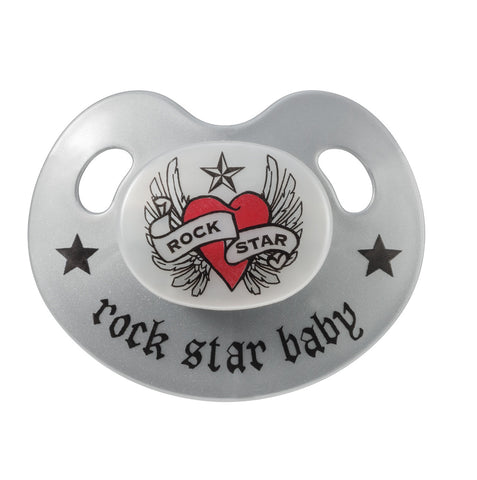Ciuccio Heart | ROCK STAR BABY | RocketBaby.it