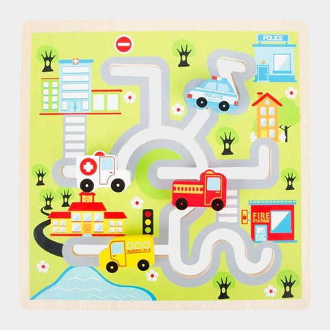 Puzzle Da Spingere Città | LEGLER | RocketBaby.it