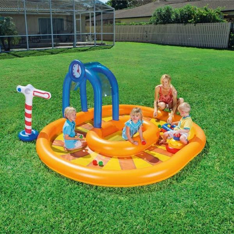 Piscina Play Center Treno | BESTWAY | RocketBaby.it
