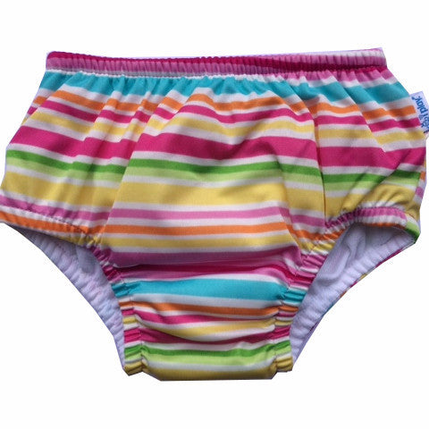 Costumino Assorbente Mix'n Match Arcobaleno Rosa - I PLAY - RocketBaby.it - RocketBaby