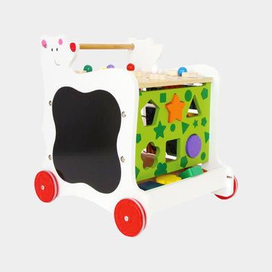 Carrettino Primi Passi Orso | LEGLER | RocketBaby.it