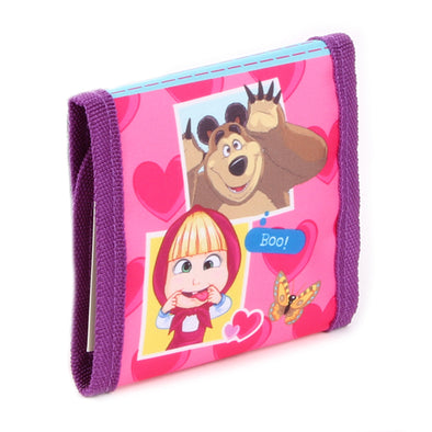 Portafoglio Masha and the Bear Friendship Goals | VADOBAG | RocketBaby.it
