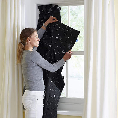 Tenda Oscurante Portatile con Ventose Stars and Moon | THE GRO COMPANY | RocketBaby.it