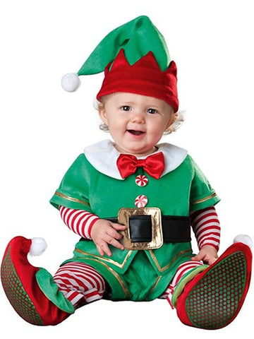 Costume Travestimento Piccolo Elfo di Babbo Natale | INCHARACTER | RocketBaby.it
