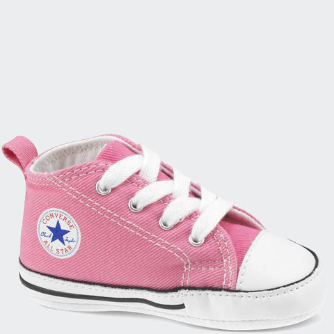 Converse Neonato Chuck Taylor First Star Hi Pink | CONVERSE | RocketBaby.it