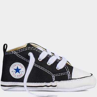 Converse Neonato Chuck Taylor First Star Hi Black | CONVERSE | RocketBaby.it