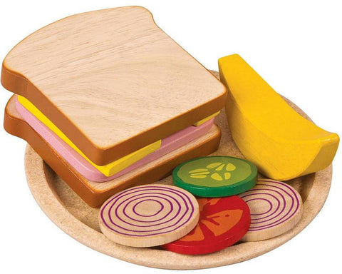 Gioco Sandwich In Legno | PLAN TOYS | RocketBaby.it
