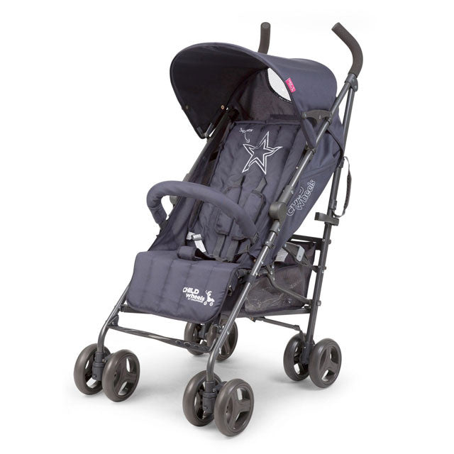 Passeggino Buggy Multi Pos Antracite Superstar - RocketBaby - 1