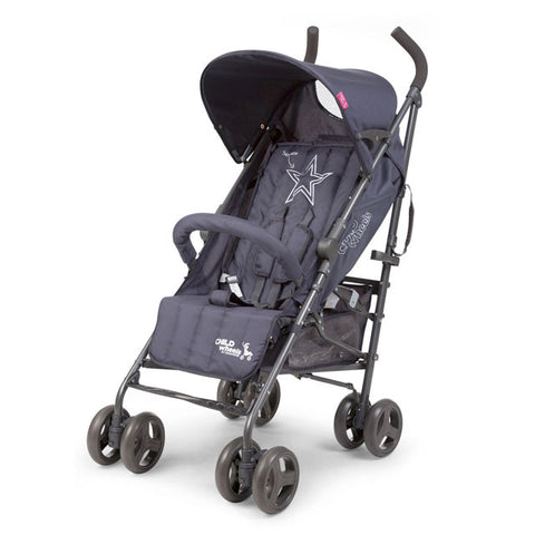 Passeggino Buggy Multi Pos Antracite Superstar | CHILDHOME | RocketBaby.it