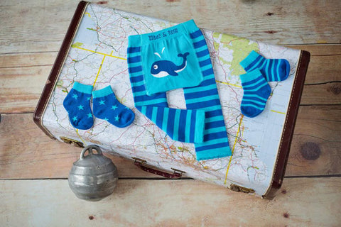 Leggings Balena Blu - RocketBaby - 2