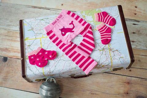 Leggings Balena Rosa - RocketBaby - 2