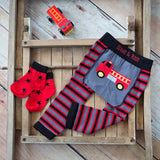 Leggings Camioncino dei Pompieri | BLADE&ROSE | RocketBaby.it
