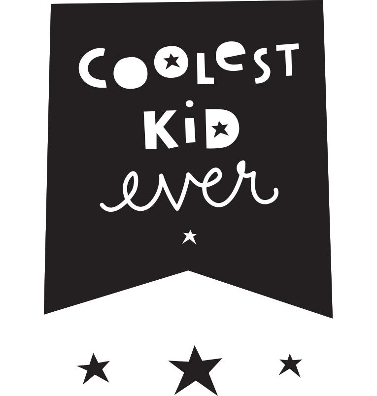 Stickers da Muro: Coolest Kid Ever - RocketBaby