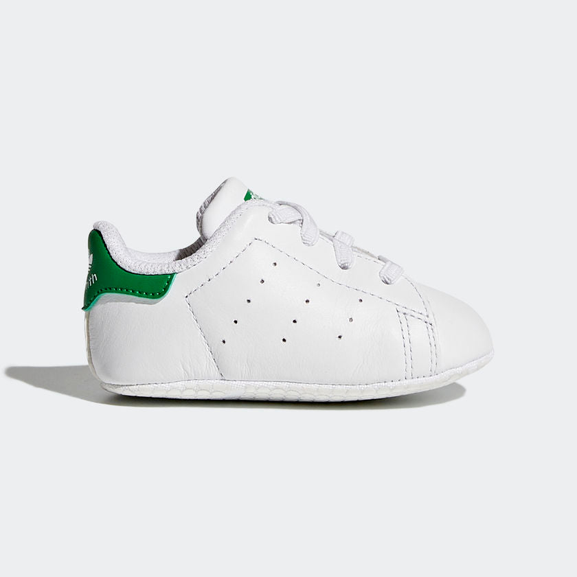 info for 1c3ee 53bed Adidas Neonato Stan Smith Crib Bianco e Verde