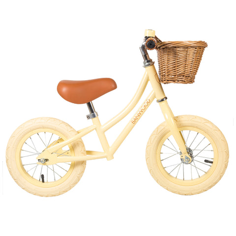 Bicicletta Balance Bike First Go Girl Vanilla | BANWOOD | RocketBaby.it