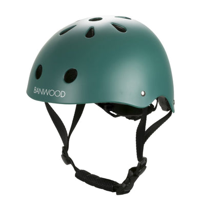 Casco Per Bici Dark Green | BANWOOD | RocketBaby.it
