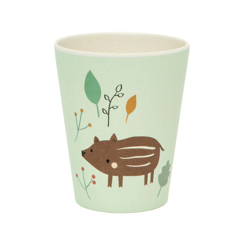 Tazza In Bamboo Baby Boar | PETIT MONKEY | RocketBaby.it