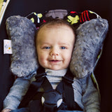 Supporto per la Testa Ergonomico Luxe Grigio | BABY ELEPHANT EARS | RocketBaby.it