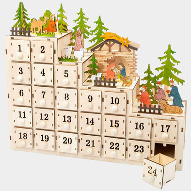Calendario dell'Avvento con Presepe | LEGLER | RocketBaby.it