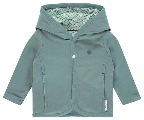 Cardigan Haye Grey Mint | NOPPIES | RocketBaby.it