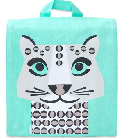 Zaino Leopardo Bianco | COQ EN PATE | RocketBaby.it