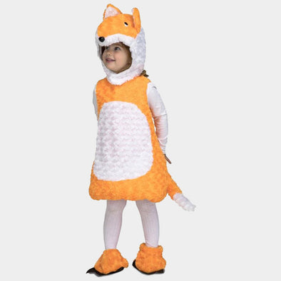 Costume Travestimento Volpe Peluche | MOM FUN COMPANY | RocketBaby.it