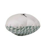 Cuscino Nuvoletta Double face Verde Bianco - RocketBaby - 3
