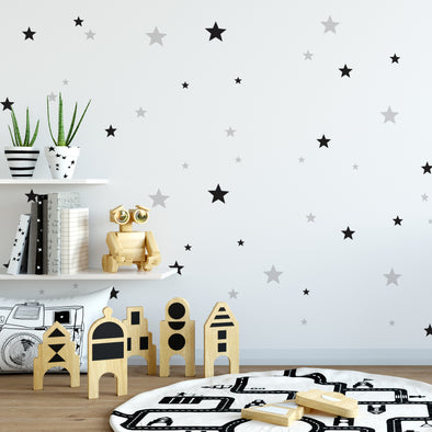 Set Stickers Da Muro Stars | DEKORNIK | RocketBaby.it