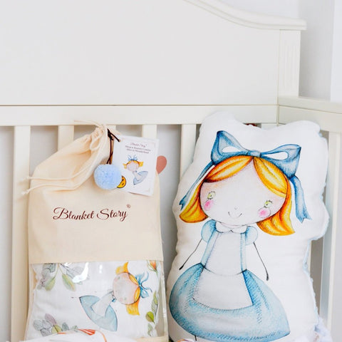 Cuscino Alice | BLANKET STORY | RocketBaby.it