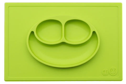 3 in 1 Tovaglietta-Vassoio-Piattini All in One Happy Mat Verde - RocketBaby - 2