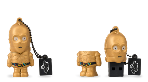 Chiavetta Usb Star Wars C-3PO | MAIKII | RocketBaby.it