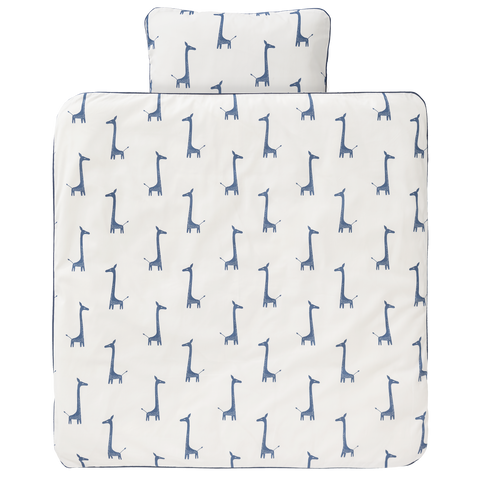 Set Compripiumino Giraffa Indigo Blue | FRESK | RocketBaby.it
