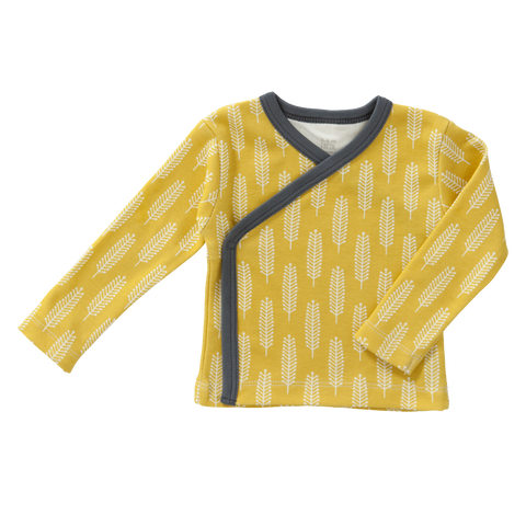 Cardigan Spiga Giallo Senape | FRESK | RocketBaby.it