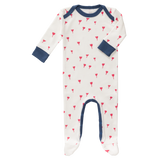 Tutina con piedini Tulipano Red | FRESK | RocketBaby.it