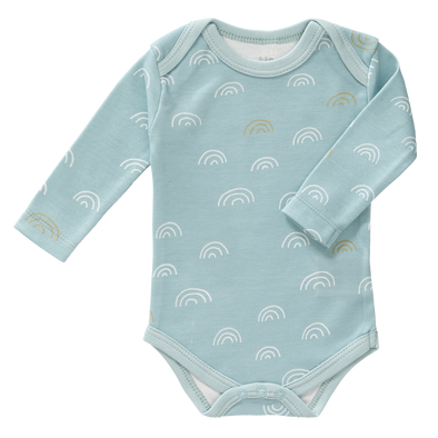 Body Manica Lunga Arcobaleno Ether Blue | FRESK | RocketBaby.it